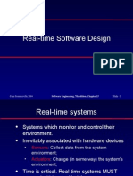 Real-Time Software Design