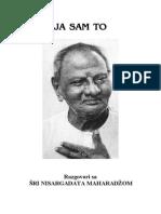 Ja Sam to - Nisargadatta Maharadzom