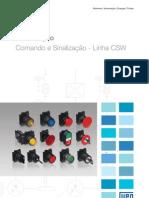 catalogo botoes WEG de comando e sinalização