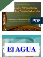 Agua Aire Petroleo Suelos y Procesos Quimicos