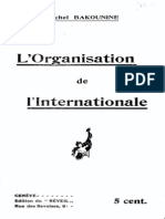 Organisation of the International