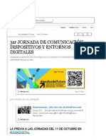 3er JORNADA DE COMUNICACIÓN, DISPOSITIVOS Y ENTORNOS DIGITALES (with images, tweets) · leonautajujuy · Storify