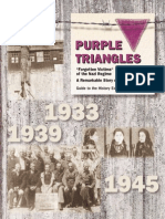 1999, 2003 - Purple Triangles - Brochure
