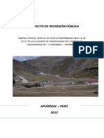 Perfil i.e.primaria Challhuahucho
