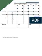 Calendar in Excel till Year 2050