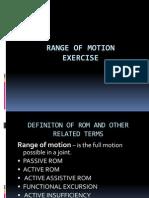 Range-of-Motion