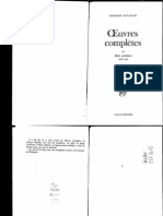 Georges Bataille - Oeuvres Completes - Tome 2