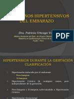 Trastornos Hipertensivos Del Embarazo - Dr. Patricia Urteaga Vargas