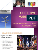 6 - Marketing Mix Analysis Product