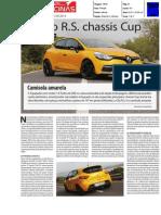 """RENAULT CLIO R.S. 200 EDC NO """"JORNAL DAS OFICINAS"""""""
