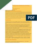 Estándar de Jerarquía de Sistema de Archivos