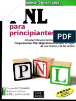 Salvador Carrion PNL Para Principiantes