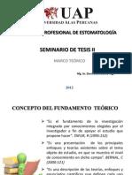 CLASE 7 MARCO TEÓRICO