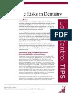 Ergonomic Risks in Dentistry