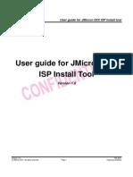 Isp Install Userguide 6xx 1.0