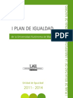 I Plan_de_Igualdad de La UAM