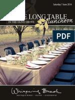 Email Olivelonglunch 2014