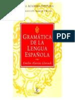 Gramática de la lengua - Emilio Alarcos Llorach