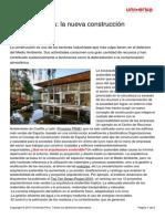 Ecoarquitectura Nueva Construccion Sostenible