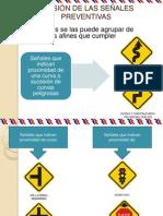 DIVISIÓN DE LAS SEÑALES PREVENTIVAS