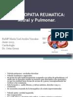 VALVULOPATIA REUMATICA