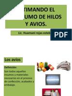 Estimando El Consumo de Hilos y Avios 2012-1