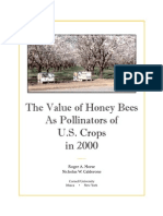 The Value of Honey Bees as Pollinators of Us Crops 2000