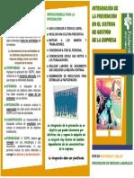 PR-TRI-15-0-INTEGRACIÓN PRL EN LA EMPRESA