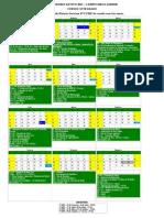 calendario_2013-Cursos Integrados