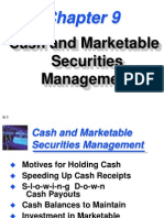 Cash and Marketable Securities