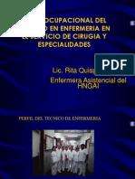 Perfil Ocup Cirugia y Especialidades