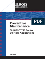 Preventive Maintenance Allison Oil Field