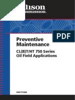 Preventive Maintenance Allison Oil Field