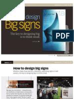 Ba 0689 How to Design Big Signs