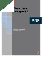 Kimia Unsur Golongan IIA