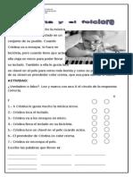 Lectura Cristina y El Folklore