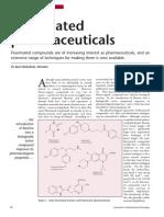 Fluorinated Pharmaceuticals