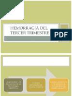 Hemorragia Del Tercer Trimestre