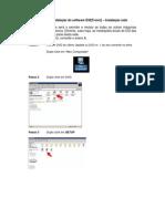 1 InstrucoesparainstalacaodosoftwareESI[Tronic] InstalacaoemRedecomI Key