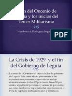 El Tercer Militarismo en el Perú