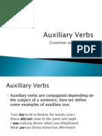 Auxiliary Verbs Presentation