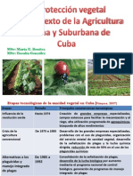 La Proteccion Vegetal en El Contexto de La Agricultura Urbana y Suburbana en Cuba