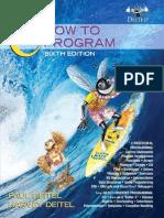 C How to Program - 6th Edition- Deitel