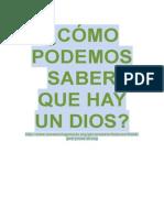 CÓMO PODEMOS SABER QUE HAY UN DIOS.pdf