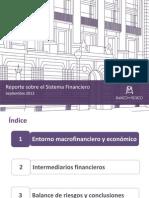 Reporte Sobre Sist Financiero Mexicano Sep 2013