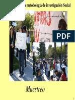 (4)Metodos de Investigacion Social Cuantitativos (Muestreo)