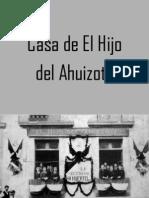 PRESENTACIÓN PROY AHUIZOTE -2014