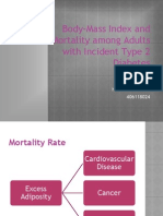 Body-Mass Index and Mortality Among Adults With Incident