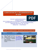 Clarification_oem Recommendation_rm Moscow Visit
