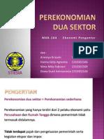 perekonomian 2 sektor